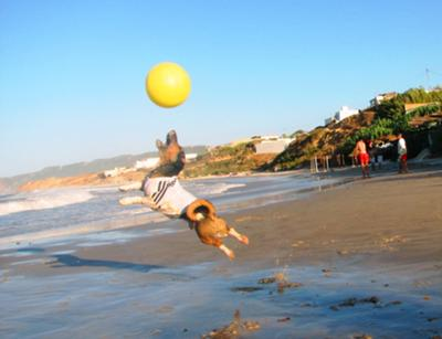 Jack Beach Jumping Real Madrid