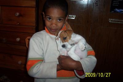 Jaden and Bubbles