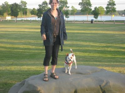 Yoichi and Me In Bouctouche, New-Brunswick